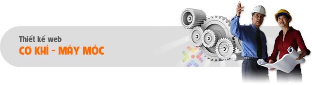 Thiết kế web Cơ Khí - Máy móc